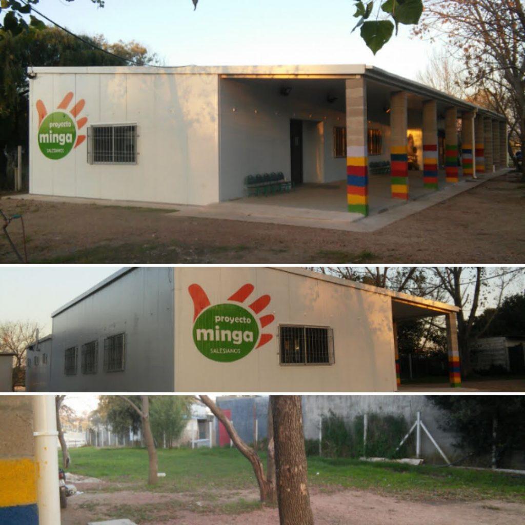 Casa del proyecto Minga 2018