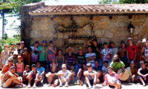 Campamento. Fortaleza de Santa Teresa, Rocha.