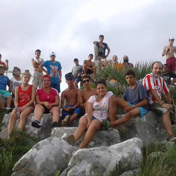 Campamento en Laguna Negra 2017.
