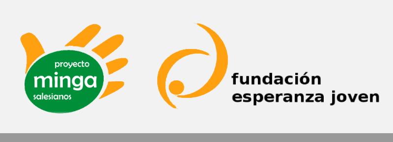 Logos Minga Fundación Esperanza Joven